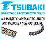 603-83 - CHAIN RC60-1x88P - REAR