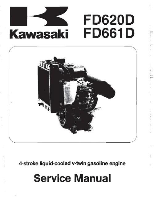 99924-2030-05 MANUAL, SERVICE KAWASAKI FD620D