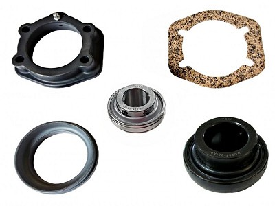 "K-170HDB-AM (AFTERMARKET) HD 1.25"" MID BEARING & FLANGE KIT (2010 - 2017)"